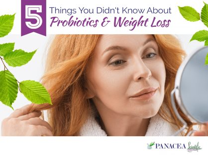 5 Things You Didn't Know About Probiotics & Weight Loss